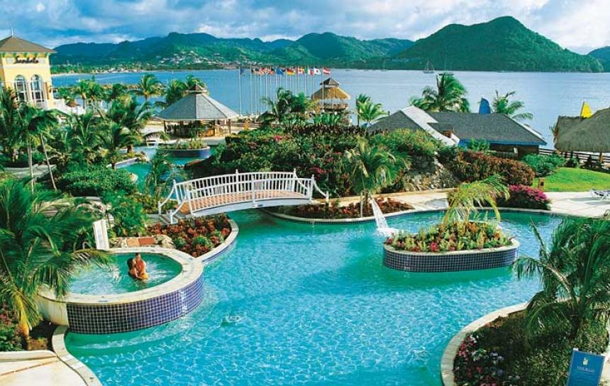 S jour au sandals grande st lucian voyages de r ve - Villa de reve pineapple jamaique ...